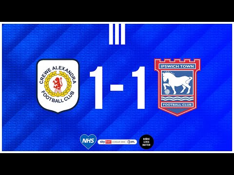 Crewe Ipswich Goals And Highlights
