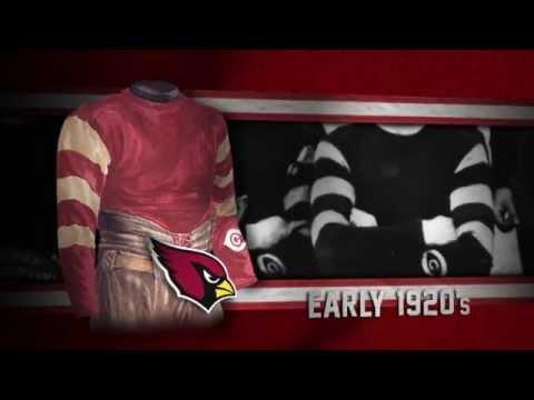 Arizona Cardinals Uniform And Uniform Color History