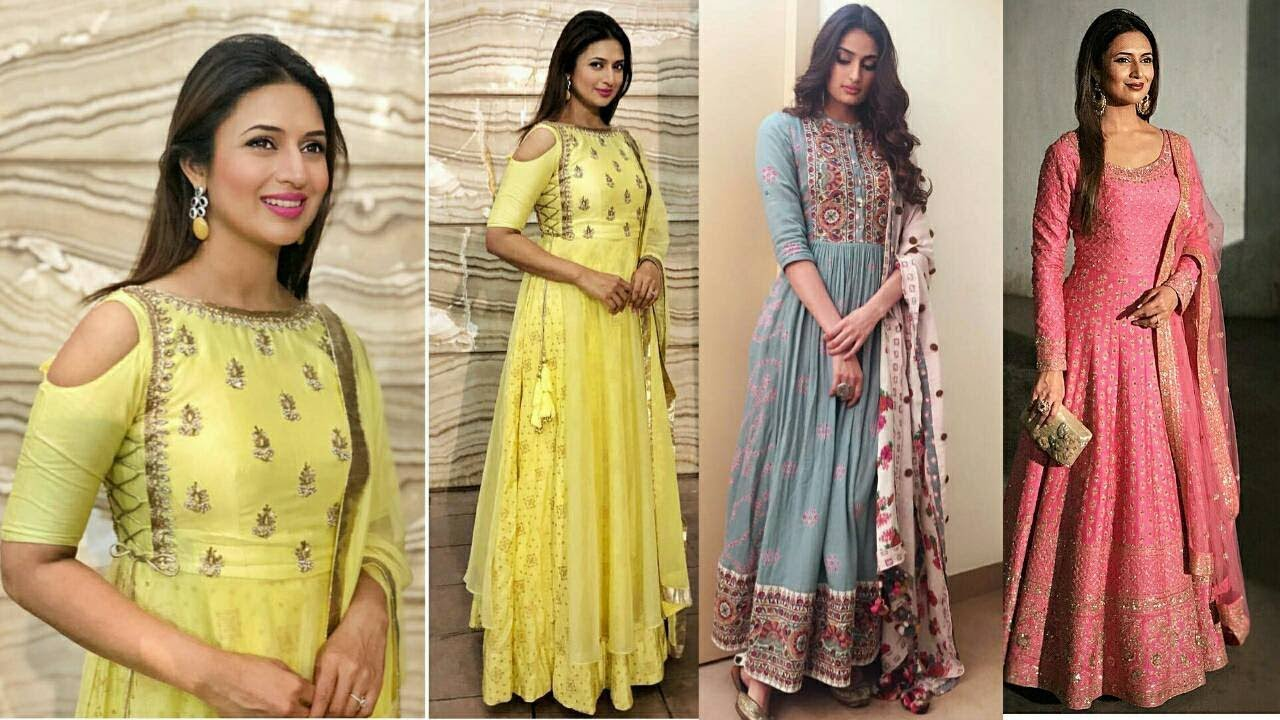 Latest Designer Stylish Trendy Bollywood Long Kurtis 2018