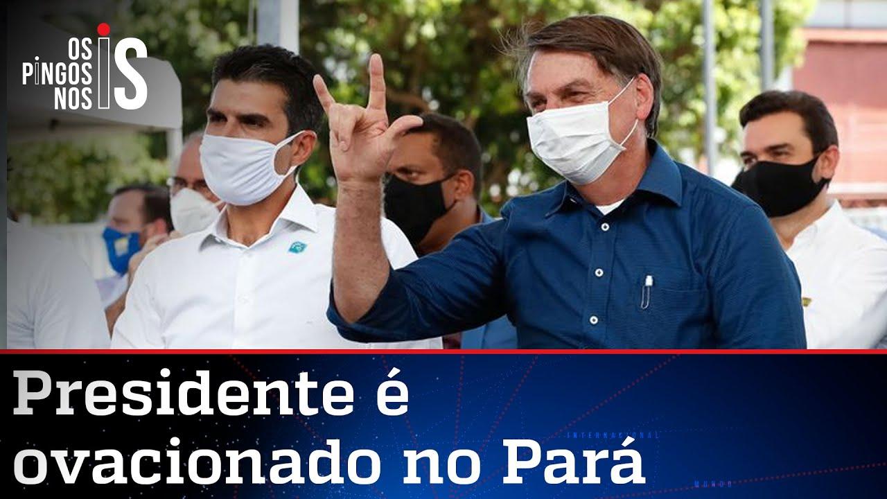 Mídia esconde a verdade sobre as viagens de Bolsonaro
