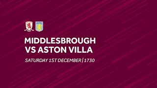 Middlesbrough 0-3 Aston Villa | Extended highlights