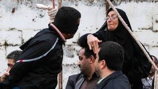 Repeat youtube video Iran Mother Stops Execution of Son's Killer