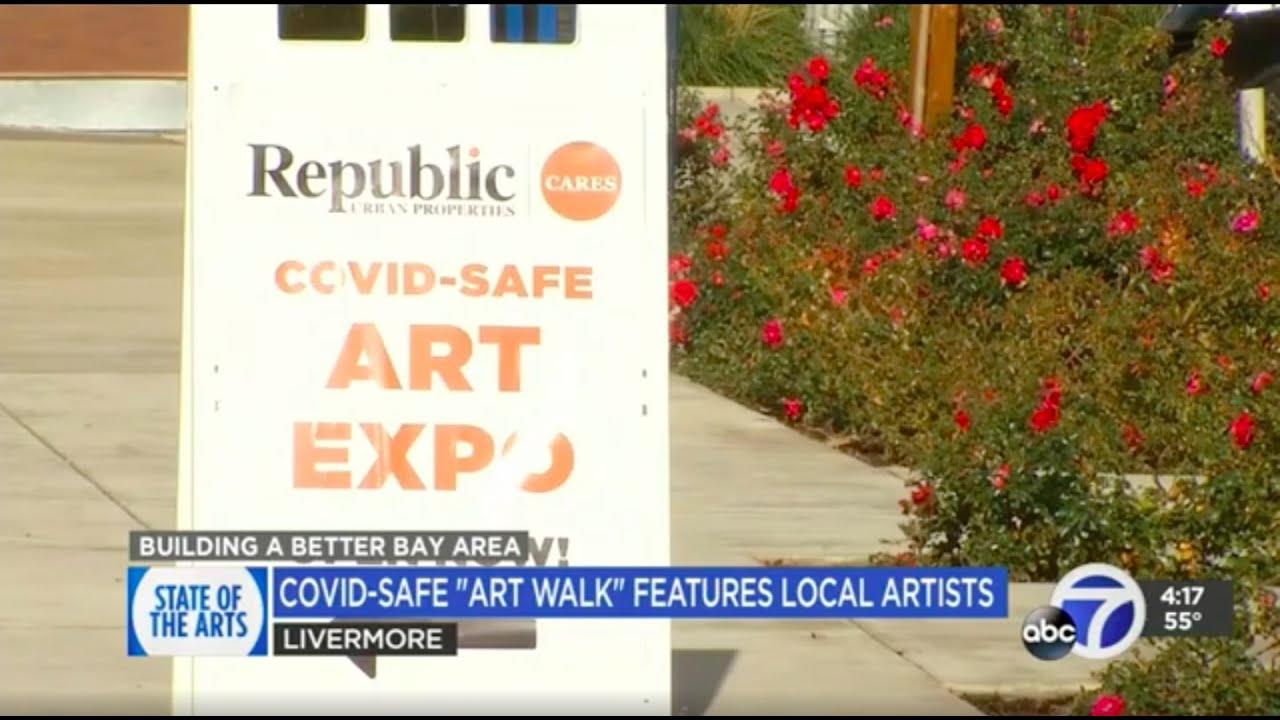 Republic Urban Properties COVID Safe Art Walk