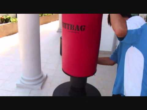 How To Fill Your Fightbag Punching Bag Wmv