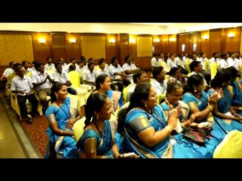 chennai training foundation corporate training for BSL logistics employees on February,2016