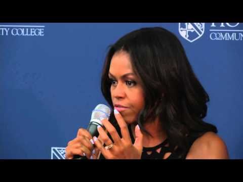 Former First Lady Michelle Obama Speaks About College Preparation | Howard Community College (HCC)