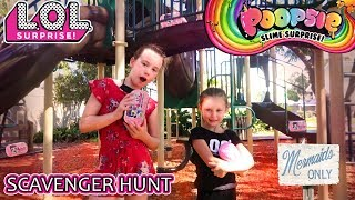 LOL Surprise Under Wraps Poopsie Slime Surprise Scavenger Hunt Series 4 LOL Dolls Park Playground