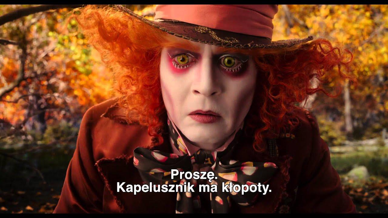 Alicja po drugiej stronie lustra - polski zwiastun [napisy]