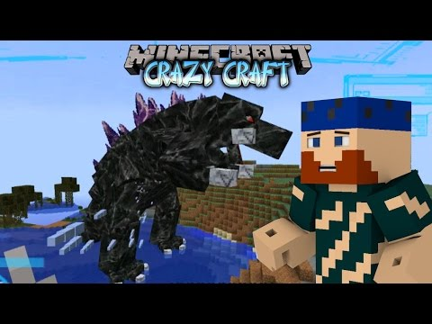 Minecraft | YesMen Crazy Craft | #17 GODZILLA VS THE AVENGERS