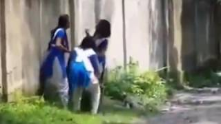 Bangladeshi School Girls - Funny Activity