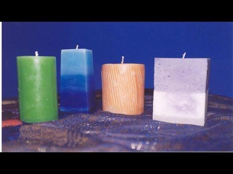 Curso Como Fazer Velas em Gel, Pó e Parafina - Vela Baldinho de Gelo