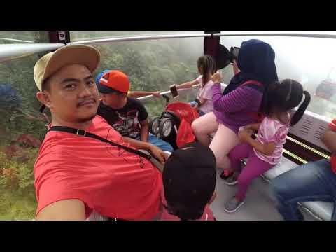 BERKUNJUNG KE GENTING HIGHLANDS MALAYSIA NAIK CABLE CAR