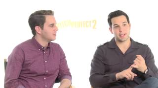 pitch perfect 2 star ben platt admits he never watched a star wars movie
