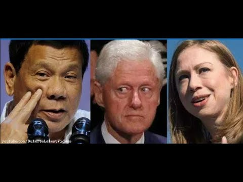OUCH! DUTERTE HITS BACK HARD AT CHELSEA CLINTON!