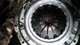Mazda MX5 Miata Eunos clutch replacing