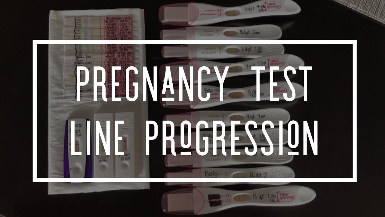 Ivf Pgd Vlog 50 Pregnancy Test Line Progression Wondfo And