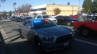 LAPD Unmarked Dodge Charger Reponding