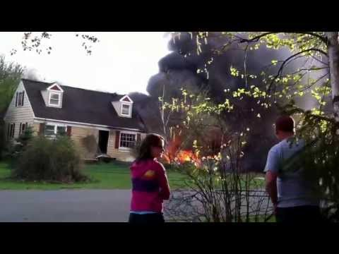House fire in Lowell, Michigan