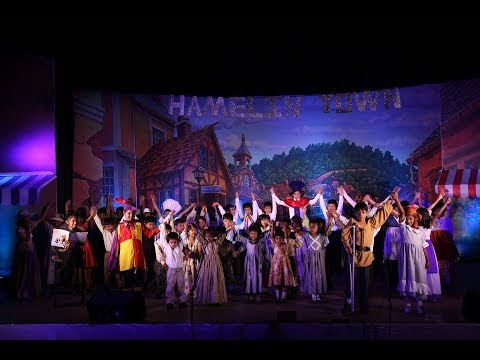 Kingston High- Bangalore, India -Theatrical performance - The Pied Piper of Hamelin