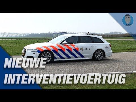 AUDI A6 POLITIE NIEUWE  snelle interventievoertuigen. EXTRA VIDEO 👮♂️