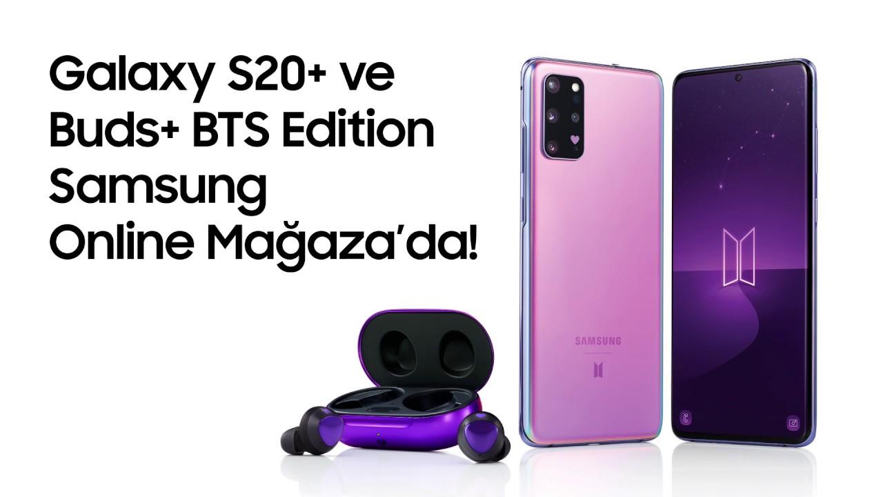 Galaxy S20+ BTS Edition Şimdi Samsung Online Mağaza'da!