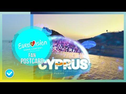 Postcard of Eleni Foureira (Eurovision Cyprus 2018) Fan Made