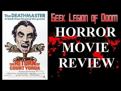 THE RETURN OF COUNT YORGA 1971 Robert Quarry  Horror Movie   2016 Arrow films