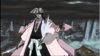 Shunsui Kyoraku and Jushiro Ukitake Shikai Release [Eng Dub]