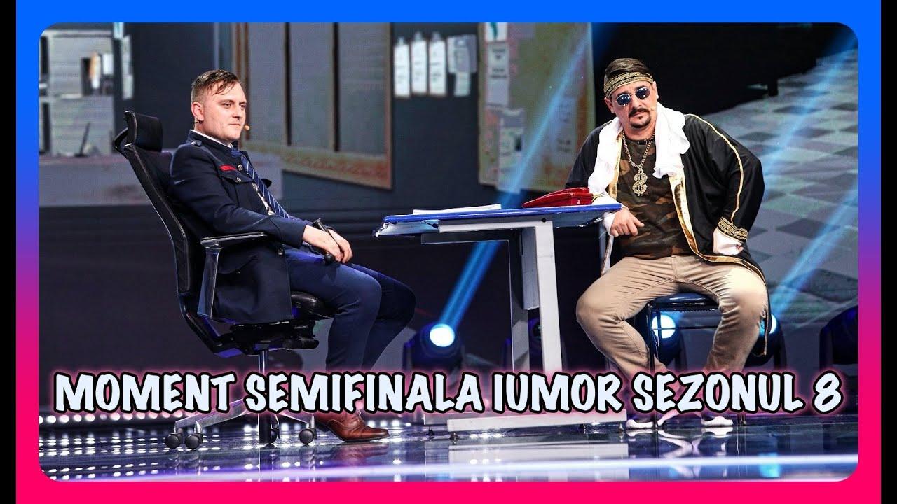 Șcenetă în semifinala iUmor - Șeic arestat de poliție (Moment complet și jurizare)