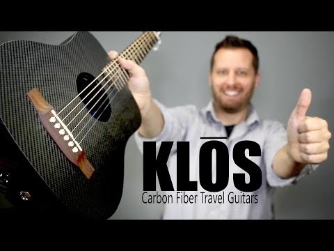KLOS Carbon Fiber Travel Guitar! - Full Demo!