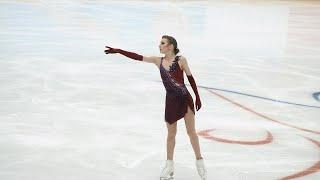Daria Usacheva Russian Cup Final 2021 SP Дарья Усачева Финал Кубка России КП 27 02 2021