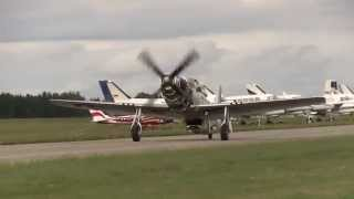 P 51 Sierra Sue II Engine Start