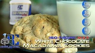 Ronnie Coleman White Chocolate Macadamia Cookies - King's Kitchen Episode 2 W/ Marlen T Page