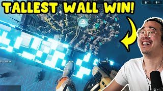 Hyper Scape | WE WON BY BUILDING THE TALLEST WALL FORTRESS!! (Funny Moments)