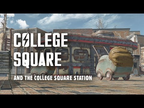 The Full Story of College Square and the College Square Station - Fallout 4 Lore