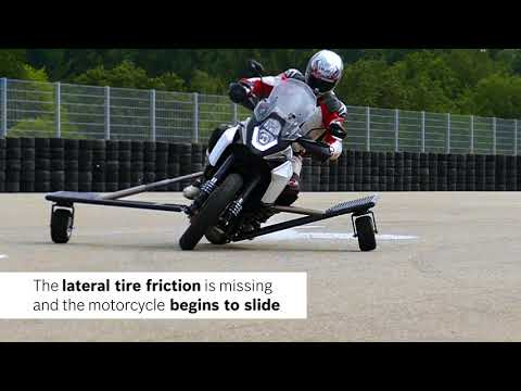 Greater safety on two wheels - Bosch innovations for the motorcycles of the future