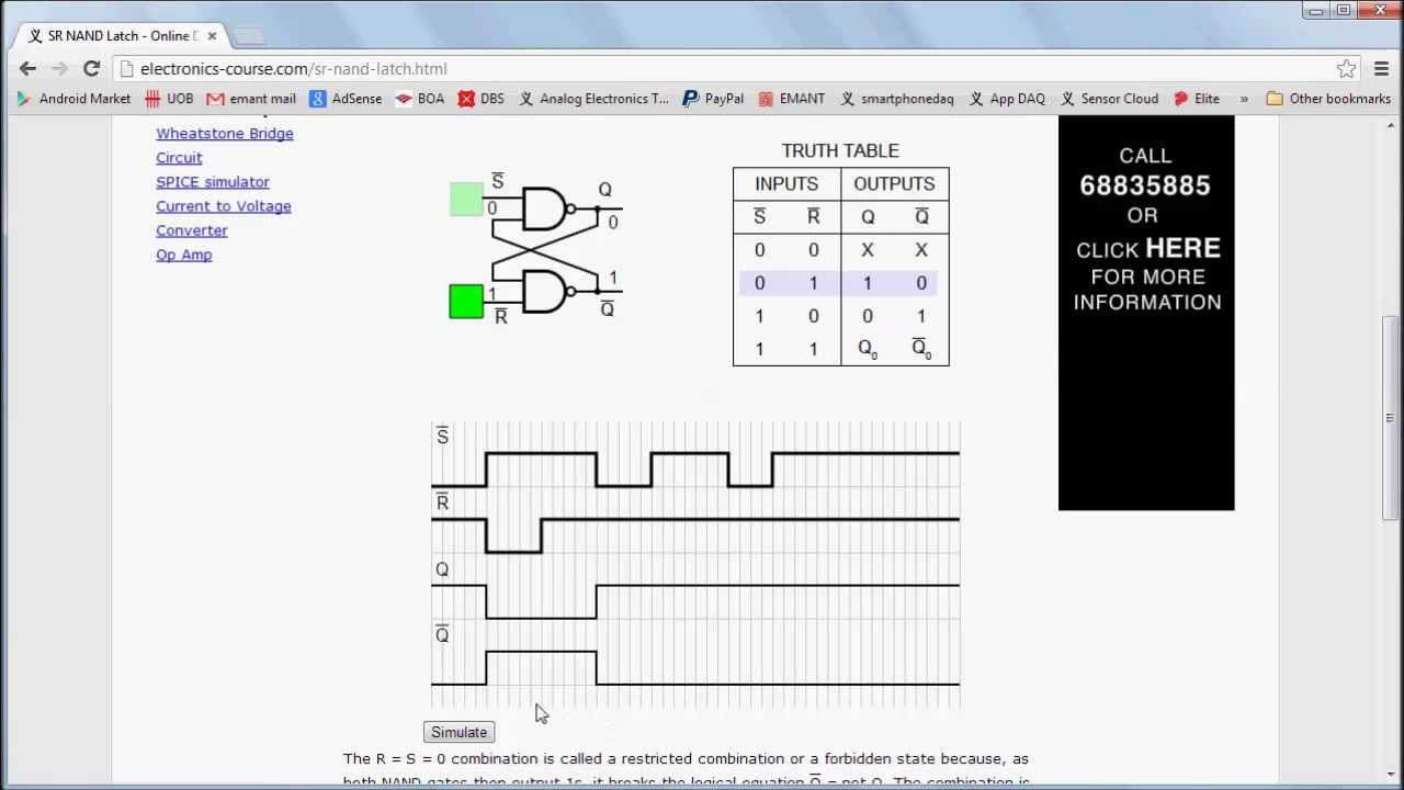 JK Flip Flop - Basic Online Digital Electronics Course