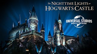 Virtual Viewing of The Nighttime Lights at Hogwarts Castle | #UniversalAtHome