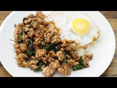 Pad Kra Pao Recipe Thai Basil Chicken