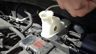 видео Замена тормозной жидкости. Какую выбрать и когда стоит менять