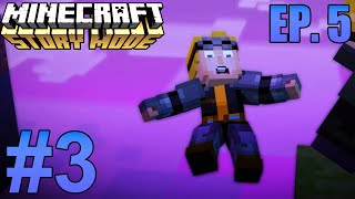 "Minecraft: Story Mode: Episode 5 ""Order Up!"" Part 3 - LUKAS NOO! (Walkthrough)"