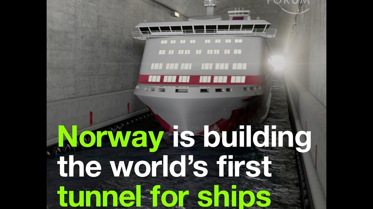 Norway Is Building The Worlds First Tunnel For Ships YouTube - First cruise ship in the world