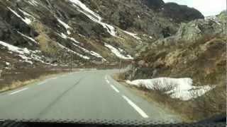 Norwegen/Norway, Fahrt auf dem Sognefjell Rv.55