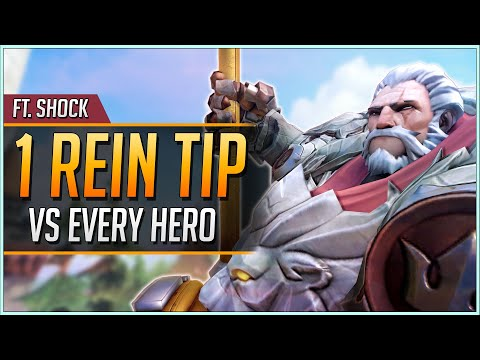 1 REINHARDT TIP for EVERY HERO ft. Shock (UPDATED 2019)