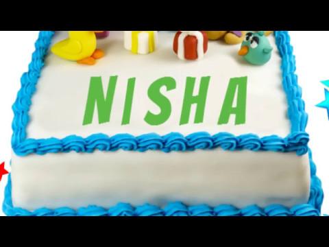 Happy Birthday Nisha Youtube