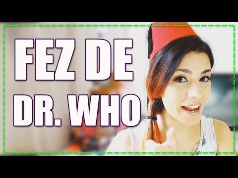 GEEK CRAFT || Como fazer o Chapéu Fez de Dr. Who! - HEY HIMURA