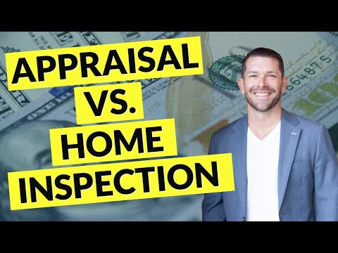 Appraisal Vs Home Inspection - What's The Difference?