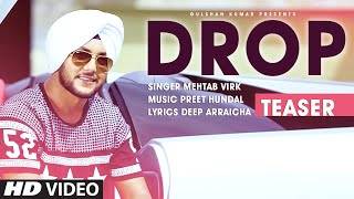 Mehtab Virk: DROP (Song Teaser) Preet Hundal | Releasing 11 December 2015