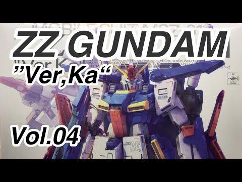 ZZ Gundam `Ver Ka` 1:100  Model Production vol.4