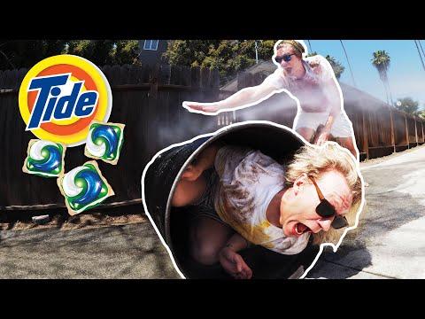 Extreme Tide Pod Laundry Machine!